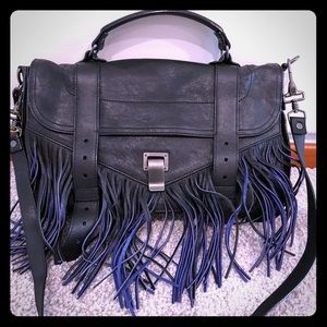 Proenza Shouler Bicolor Fringe Medium PS1